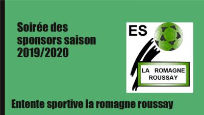 Soirée des sponsors 2019/2020